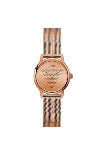 Relógio Analógico Feminino Guess Rose - Gw0106L3 Rosa