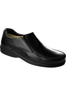 Sapato De Couro Opanankem - Masculino-Preto