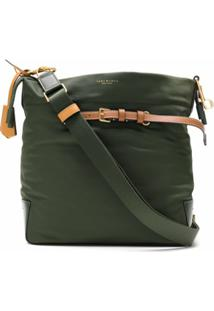 Tory Burch Bolsa Perry Drawstring De Nylon - Verde