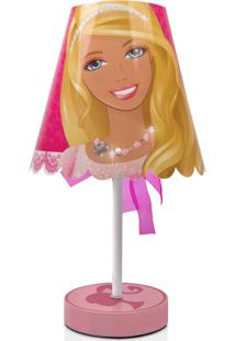 Abajur Laço Barbie Rosa Startec