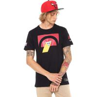 6040266dcb Camiseta New Era Chicago Bulls Preta