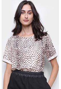 Camiseta Lança Perfume Onça Feminina - Feminino