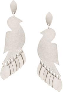 Isabel Marant Birdy Earrings - Prateado