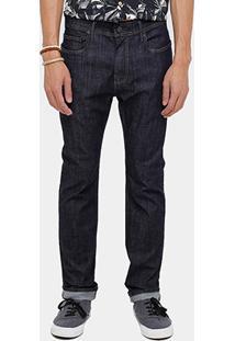 Calça Jeans Skinny Redley Super Escura Masculina - Masculino