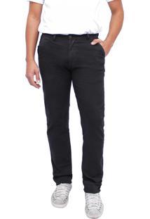 Calça Young Style Jeans Sarja Color Esporte Fino