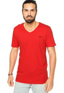 Camiseta Sommer Mini Bord Vermelha