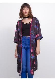 Kimono Alongado Snake