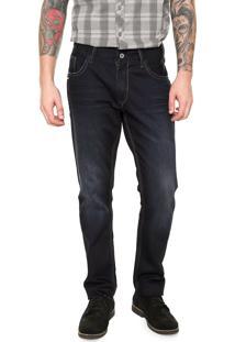 Calça Jeans Wrangler Larston Azul