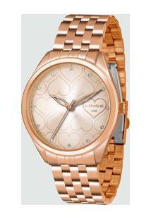 Relógio Feminino Strass Lince Lrr4481L R1Rx