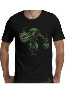 Camiseta Lampião Verde