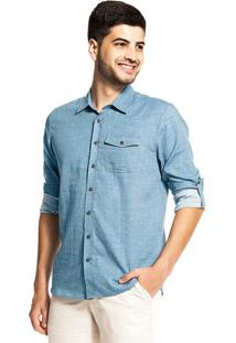 Camisa Rovitex Azul