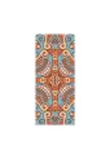 Adesivo Decorativo De Porta - Mandala - 2447Cnpt