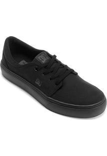 Tênis Dc Shoes Trase Tx Masculino - Masculino-Preto