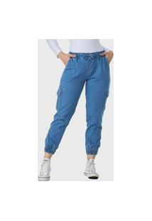 Calça Jeans Hno Jeans Mon Jogger Azul