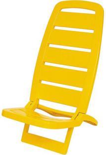 Cadeira Guaruja Polipropileno Cor Amarelo - 21840 - Sun House