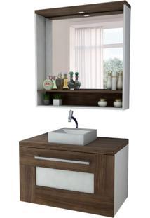 Conjunto Para Banheiro Verona Nogal Sevilha