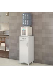 Armário De Cozinha 1 Porta 1 Gaveta Nt 3005 Branco New - Notavel