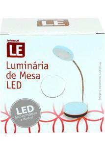 Luminária Led Le Redonda De Mesa