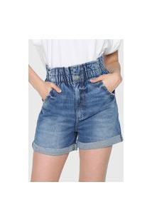 Bermuda Jeans Colcci Joana Azul
