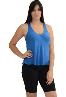 Regata Dupla Face Energia Fashion Azul