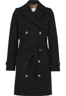 Burberry Trench Coat The Short Islington - Preto