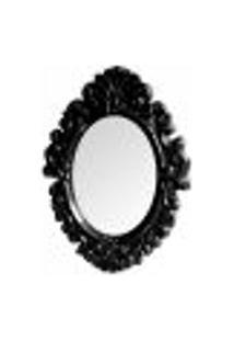 Espelho - Oval Preto