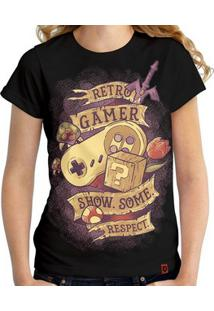 Camiseta Retro Gamer ​