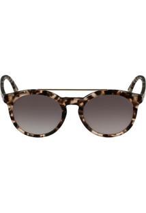 6e8fdd979a351 Óculos De Sol Lacoste Marrom feminino   Shoelover