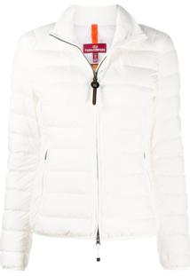 Parajumpers High-Neck Puffer Jacket - Branco