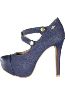 Scarpin Meia Pata Salto Alto Week Shoes Furtacor Jeans