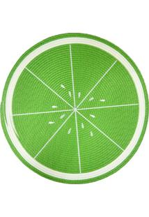 Jogo Americano Redondo Frutas Kiwi 38Cm
