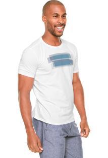 Camiseta Vr Grid Branca