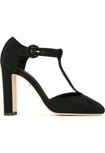 365ab9bbe0 ... Dolce   Gabbana Sapato Com Renda - Preto