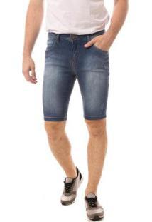 Bermuda Jeans Eventual Middle Masculina - Masculino