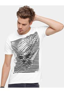 Camiseta Side Way Skull Gel Masculina - Masculino