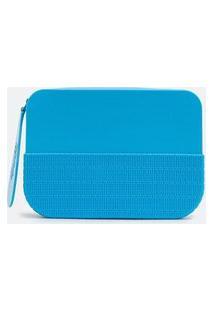 Bolsa Clutch Pequena De Mão Melissa | Azul | U