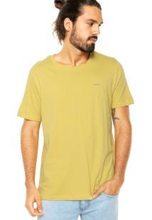 Camiseta Colcci Tag Amarela