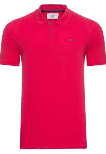 Polo Masculina Piquet Epn - Vermelho