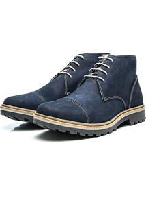 Bota Arauak Boots Montreal Azul Marinho
