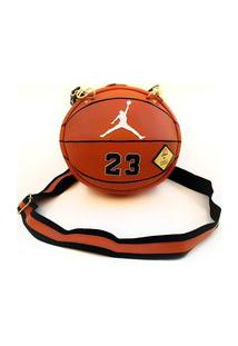 Bolsa Basketball Laranja Couro Artifice By Kissa