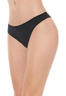 Calcinha Calvin Klein Underwear Fio Dental Básica Preta