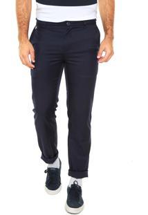 Calça Jeans Lacoste Reta City Azul
