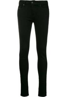 Diesel Calça Jeans Skinny - Preto