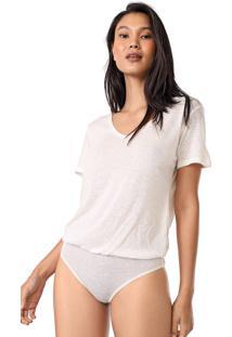 Body Lez A Lez Liso Off-White - Kanui