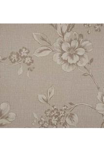 Papel De Parede Goteborg Floral- Marrom Claro & Marrom Eedantex