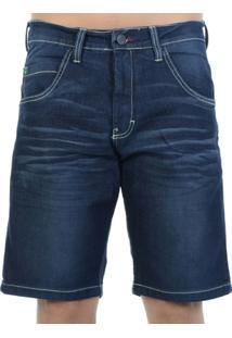 Bermuda Jeans Hd Escuro - Masculino