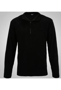 Blusa De Frio Fleece Nord Outdoor Basic - Masculina - Preto