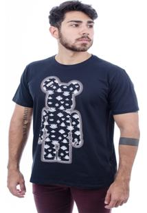 Camiseta Hardivision Indian Toy Art Manga Curta - Masculino