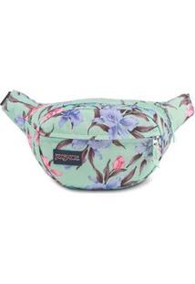 Pochete Shoulder Bag Jansport Fifth Avenue 2,5 Litros - Unissex-Verde Claro