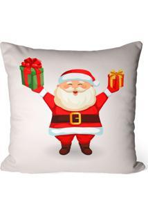 Capa De Almofada Love Decor Avulsa Decorativa Cute Noel - Off-White - Dafiti